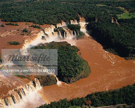 Iguazu Falls Brasilien