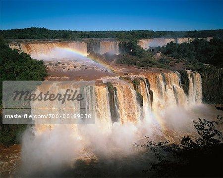 Iguazu Falls, Brasilien