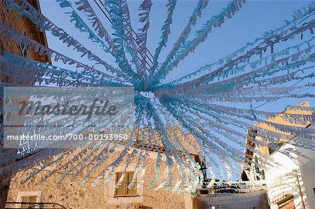 Traditionnelles décorations Valldemossa, Espagne îles Baléares