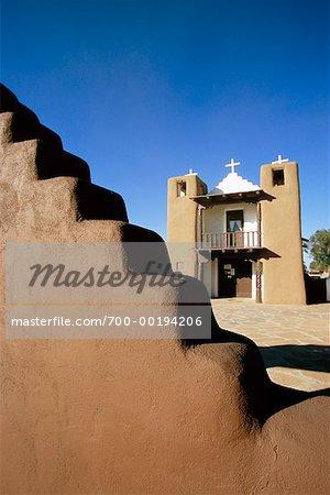 Pueblos de Taos au Nouveau-Mexique, USA