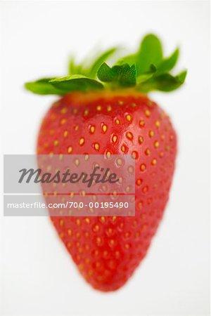Gros plan d'une fraise
