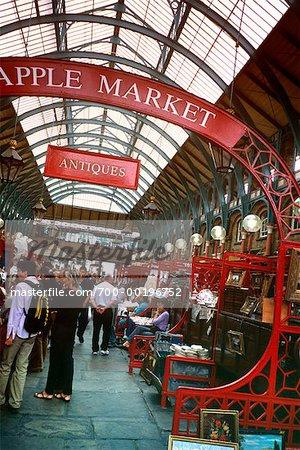 Covent Garden Londres marché