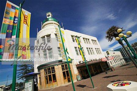 Napier, Bay North Island, Nouvelle-Zélande Hawke