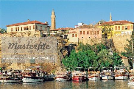 Turkey, Antalya, Port