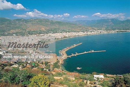 Turquie, Antalya, Port et baie
