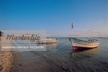 Tunisie, Hammamet, port