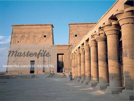 Egypt, Aswan, temple of Philae