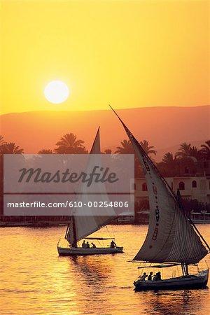 Egypte, Louxor, le Nil