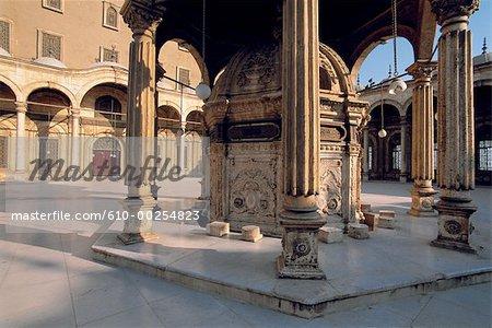 Mosquée de Méhémet Ali d'Égypte, le Caire,