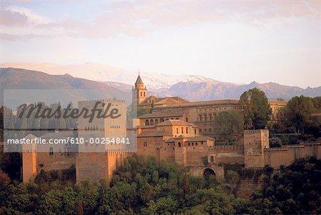 Espagne, Andalousie, Grenade, Alhambra