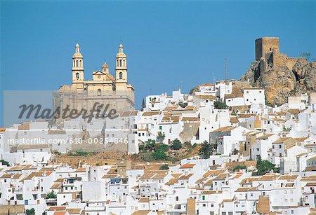 Espagne, Andalousie, Olvera