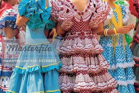 Feria d'Andalousie, Séville, Espagne
