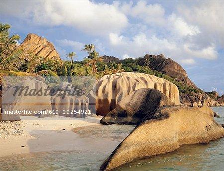 Seychelles, La Digue Island, Source d'Argent handle