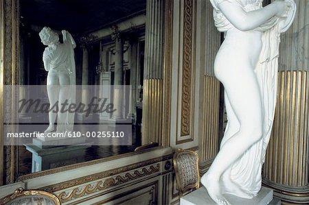 Sweden, Stockholm, Reception hall at Royal Palace