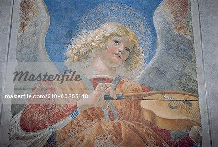 Italy, Rome, Vativan Museum, mural painting