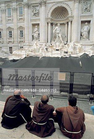 Fontaine de Trevi Rome, Italie
