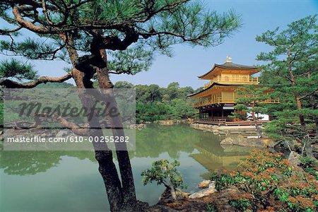 Japon, Kyoto, Kin Kaku Ji, Pavillon doré