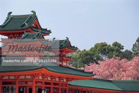 Sanctuaire Heian au Japon, Kyoto,
