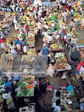 Grenada, Saint George's, market
