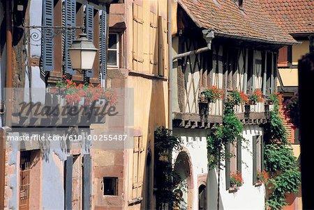 France, Alsace, Village de Riquewihr