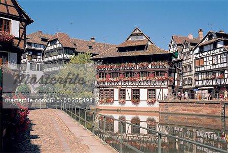 France, Alsace, Strasbourg, la petite France