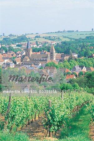 France, Alsace, Village de Wissembourg