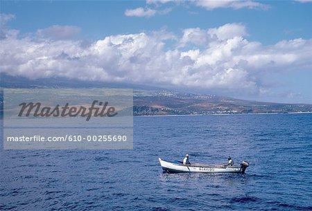 Réunion, bateau de pêche