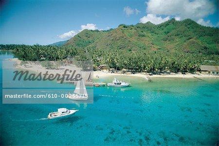 French Polynesia, Moorea island