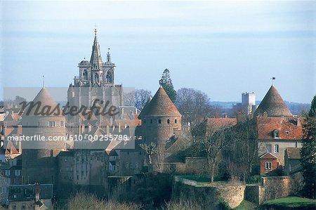 France, Bourgogne, Saumur en Auxois