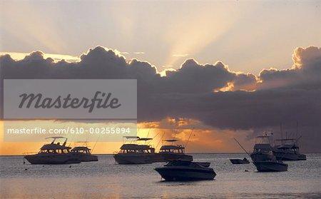 Mauritius Island, sunset
