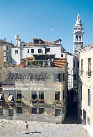 Habitation traditionnelle d'Italie, Venise, Venise