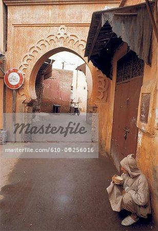 Maroc, Marrakech, Medina