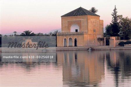 Maroc, Marrakech, la Ménara