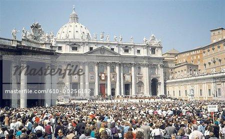 Italie, Rome, Vatican, Basilique de St. Pierre