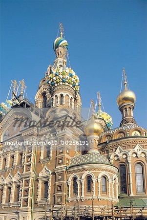 Russie, Saint-Pétersbourg, église de la résurrection