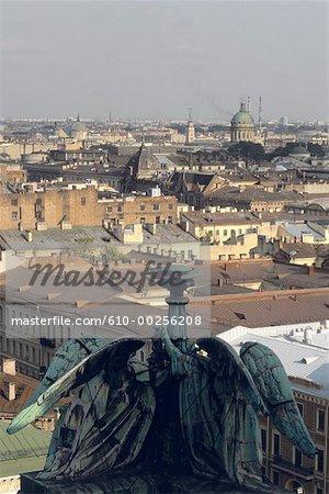 Russia, Saint Petersburg, General view