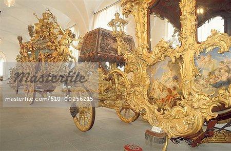 Entraîneurs de l'Allemagne, le château de Nymphenburg,