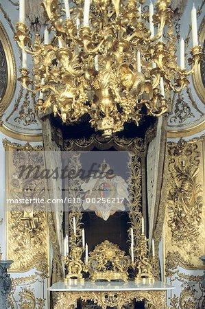 Bureau Allemagne, château de Lindenhof, Louis II