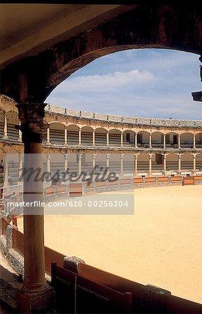 Spain, Andalusia, Ronda, arenas