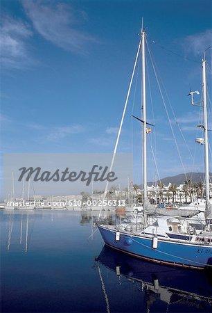 Espagne, Andalousie, Benalmadena, bateaux de plaisance