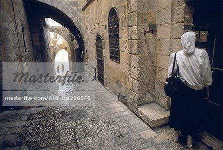 Israel, Jerusalem, The old Jewish city
