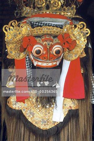 Indonesia, Bali, Barong mask
