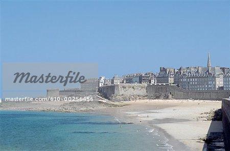 France, Bretagne, Saint Malo plage