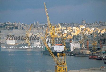 Chantier naval de Malte, Grand Port,