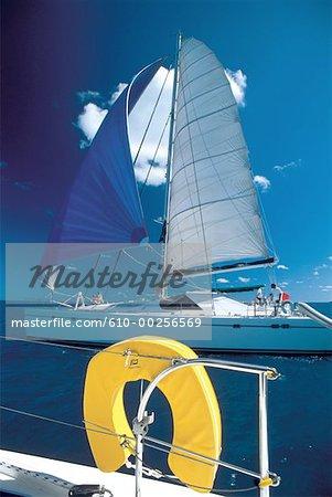 Virgin islands, catamarans de croisière