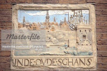 Pays-Bas, Amsterdam, expédier gestionnaire signe
