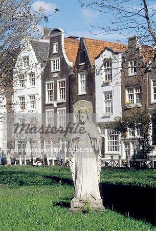 Pays-Bas, Amsterdam, le béguinage