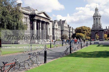 Ireland, Dublin, Trinity College