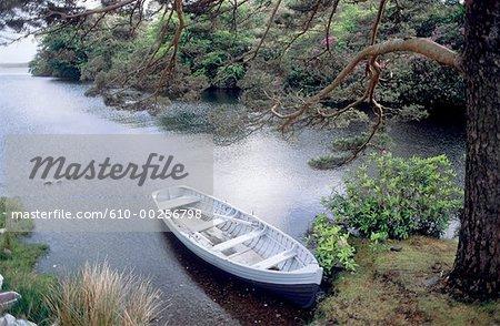 Irlande, région de lac