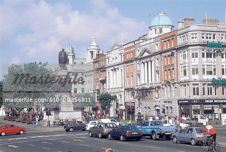 Ireland, Dublin, O'Connel street